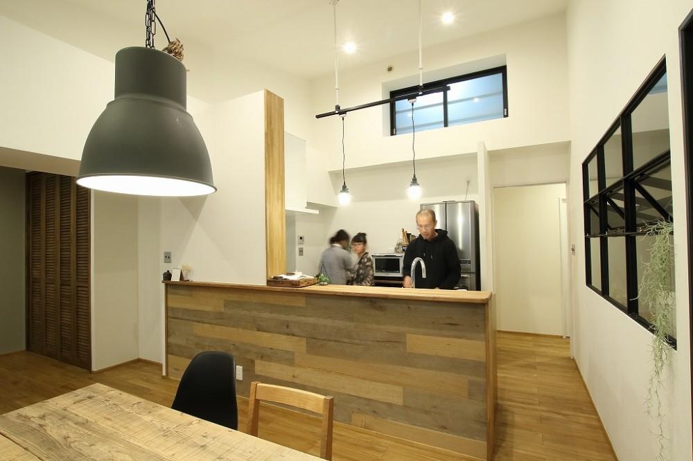 木材や植物、DIY家具が調和する温もり空間!誰もが羨む、理想のお家ができました。